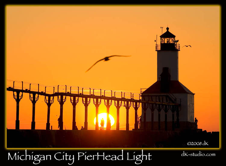 Lake Michigan PierHead Light