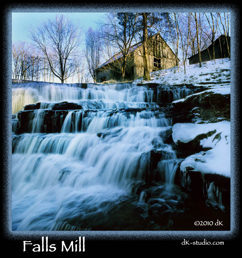 Falls Mill Upper Falls