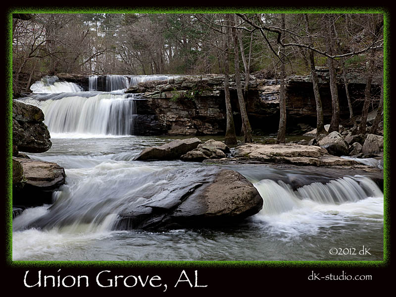 Union Grove Waterfall